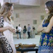 'Em Família': Luiza joga Shirley na piscina e revive cena de 'Por Amor'