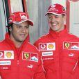 Felipe Massa visitou Schumacher no hospital em Grenoble, na França