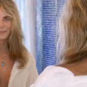 Bruna Lombardi aparece tomando banho em vídeo para incentivar economia de água