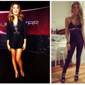 Fernanda Paes Leme repete no 'SuperStar' body de Giovanna Ewbank em festa