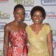 Lupita Nyong'o vai ao Annual Garden Brunch acompanha de sua mãe, Dorothy Nyong'o