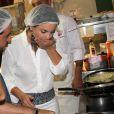 Sthefany Brito e Kayky Brito foram para a cozinha do restaurante Paris 6, na Barra da Tijuca, Zona Oeste do Rio de Janeiro, para criar novos pratos para o cardápio da casa. Enquanto Kayky preparou um espaguete à carbonara, Sthefany fez um risoto de camarão