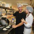 Kayky Brito já participou do quadro 'Super Chef', do programa 'Mais Você', e mostrou que tem mesmo habilidade com as panelas