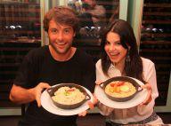 Sthefany e Kayky Brito viram chefs de cozinha por um dia em restaurante carioca