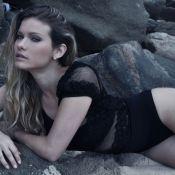 Karen Junqueira fala de cenas de sexo com Cauã Reymond: 'Usei tapa-sexo'