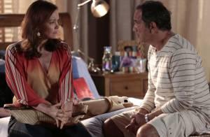 'Em Família': Helena diz a Virgílio que não considera mais Luiza como filha