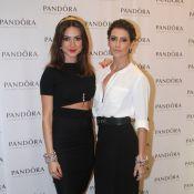 Deborah Secco e Thaila Ayala prestigiam evento de joalheria em São Paulo