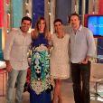 Ana Furtado e Dan Stulbach substituem Fátima Bernardes no 'Encontro' sempre que a apresentadora sai de férias ou precisa se ausentar