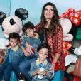 Isabella Fiorentino já disse que não pretende ter mais filhos