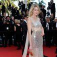 Vanessa Hessler  prestigia a première do filme 'The Homesman' no Festival de Cannes 2014