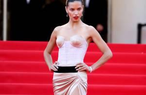 Adriana Lima rouba a cena no red carpet em Cannes 2014. Veja os looks!