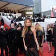 Nabilla Benattia prestigia a première do filme 'The Homesman' no Festival de Cannes 2014