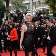 Sarah Marshall prestigia a première do filme 'Foxcatcher' no Festival de Cannes 2014