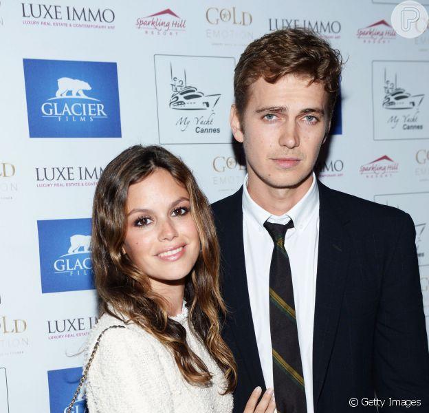 Rachel Bilson está grávida do primeiro filho com o namorado, Hayden Christensen