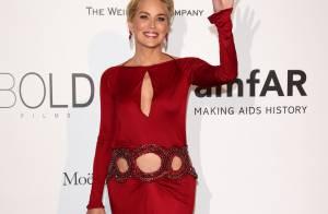 Sharon Stone prestigia o baile da amfAR em Cannes 2014. Veja os looks!