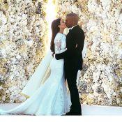 Kim Kardashian divulga fotos de seu casamento com Kanye West