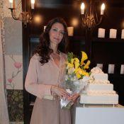 Maria Fernanda Cândido comemora 40 anos em jantar com amigos, em São Paulo