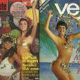 Monique Evans estampou capas de revista no início dos anos 1990 por conta do sucesso no Carnaval