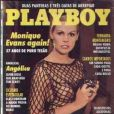 Em 1993, Monique Evans posa para a revista 'Playboy'