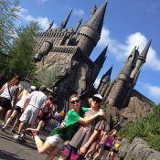 Leticia Spiller curte férias na Disney com os filhos. Veja fotos!