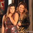 Bárbara (Polliana Aleixo) sofria com os comentários da mãe, Shirley (Vivianne Pasmanter), que a criticava por causa de seu peso