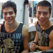 Arthur Aguiar e Felipe Simas cortam cabelo para 'Malhação'. Veja antes e depois