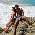 Bruna Marquezine e Neymar reataram o namoro no fim de 2017, em Fernando de Noronha
