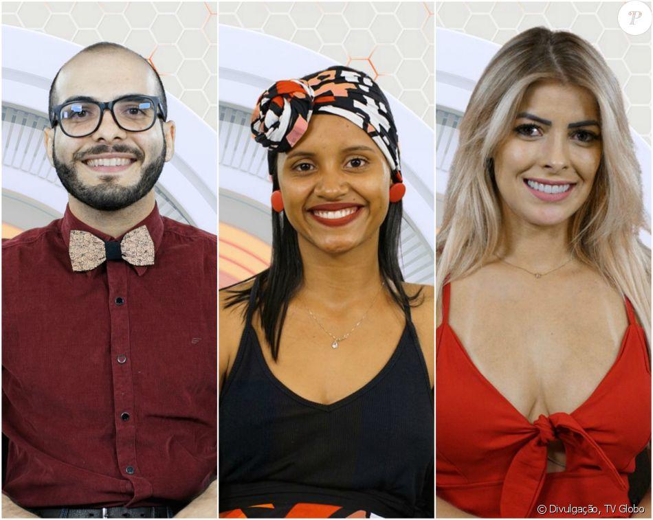 Mahmoud, Gleici e Jaqueline estão no Paredão do 'BBB18', formado domingo, 4 de fevereiro de 2018