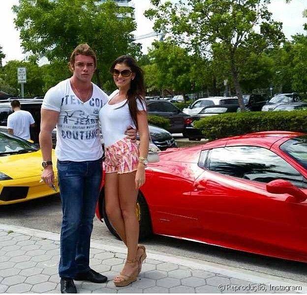 Thor Batista assume namoro modelo gaúcha, um mês após termino com Paola Leça