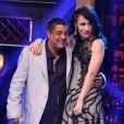 Zeca Pagodinho e Marisa Monte se divertem no palco