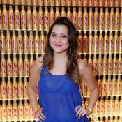 Após emagrecer 5 kg, Polliana Aleixo usa blusa transparente em festa no Rio