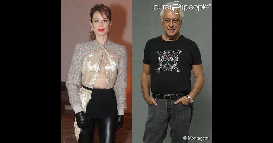 Mariana Ximenes e Antonio Fagundes vão contracenar em 'O Grande Circo Místico'