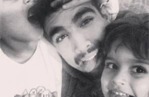 Caio Castro posta foto em família no Instagram: 'Irmão e cunhada'