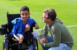 'Caldeirão': Luciano Huck e jogadores da seleção realizam sonho de adolescente