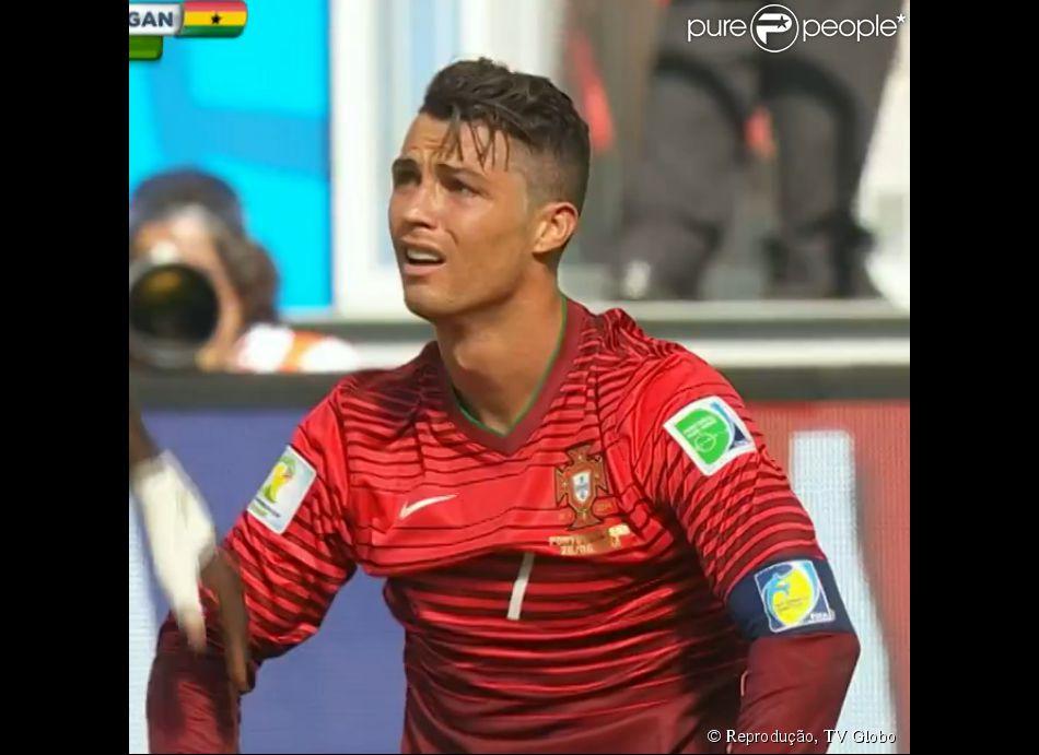 Cristiano Ronaldo marca gol, mas não salva Portugal da eliminação na Copa 26 de junho de 2014