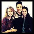 Mariana Ximenes e Claudia Ohana se tornaram amigas também fora de cena. Recentemente, as duas assistiram ao musical 'Crazy for You', com Claudia Raia