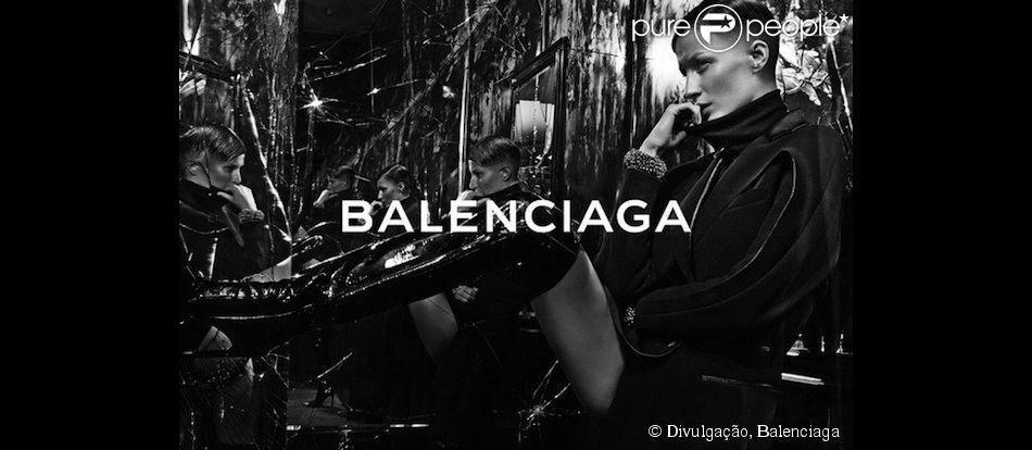 Gisele Bündchen usou ténica de cinema para aparecer com cabelos raspados em campanha de moda