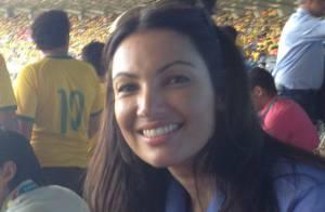 Patrícia Poeta mostra em rede social os bastidores da cobertura da Copa do Mundo