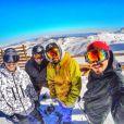 Caio Castro sofreu um acidente durante uma viagem a Valle Nevado, no Chile