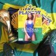Patrícia Jordane foi capa de revista na Polônia