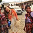 Grazi Massafera explora as belezas da Guatemala