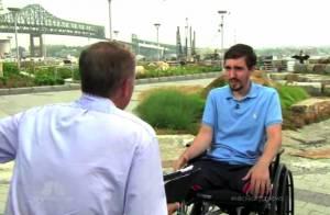 Jeff Bauman, homem que perdeu as pernas no atentado de Boston, vai ganhar filme