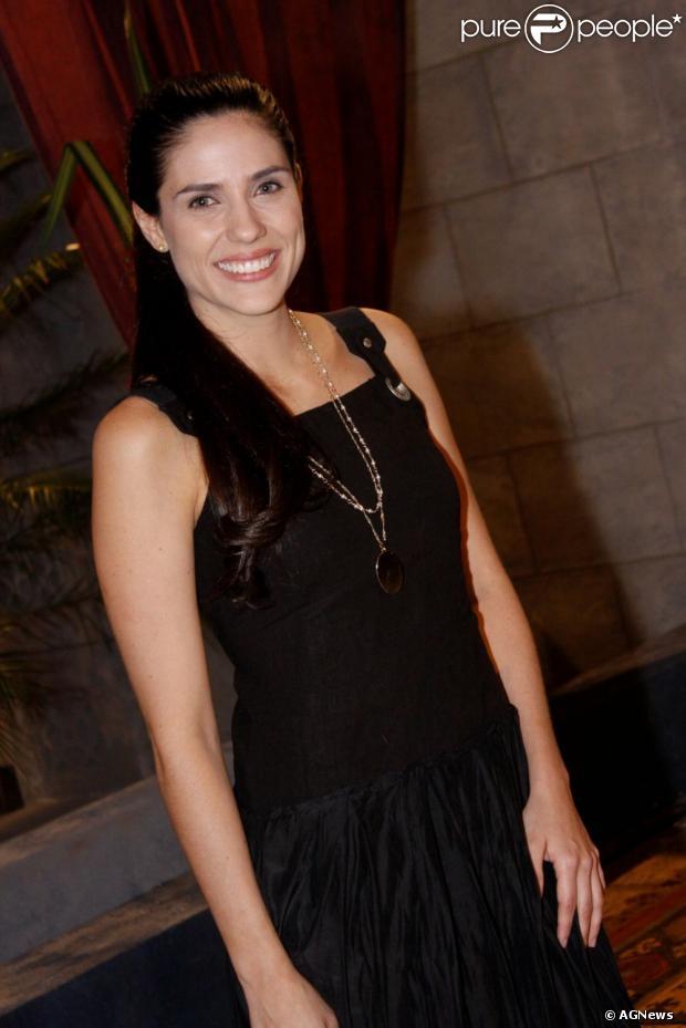Rafaela Mandelli foi casada durante quatro anos com Marcelo Serrado, de 2002 a 2006