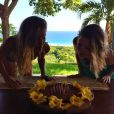 Gisele Bündchen comemorou seu aniversário de 34 anos neste domingo, 20 de julho de 2014, acompanhada pela irmã gêmea, Patricia: 'Obrigada a todos pela lembrança e pelo carinho. Me sinto muito abençoada'