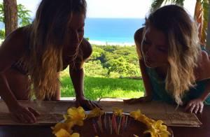 Gisele Bündchen comemora aniversário ao lado da irmã gêmea: 'Abençoada'