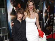 Mick Jagger recebe Luciana Gimenez e o filho Lucas em estreia de filme, nos EUA