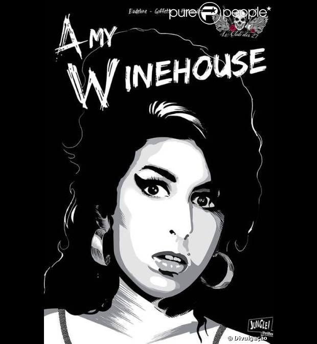 A vida de Amy Winehouse será retratada na primeira edição dos quadrinhos 'Clube dos 27', que conta a história de vida de astros da música que morreram aos 27 anos, como divulgado nesta quarta-feira, 6 de fevereiro de 2013