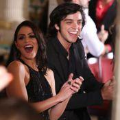 Carol Castro e ex-participantes gravam vinheta do novo 'Dança dos Famosos'