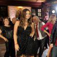 Milena Toscano e Rosamaria Murtinho também dançaram na gravação da vinheta do quadro 'Dança dos Famosos'
