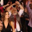 Francisco Cuoco se divertiu muito na gravação da vinheta do 'Dança dos Famosos'